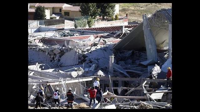 Meksika'da hastane çöktü: 7 ölü, 54 yaralı