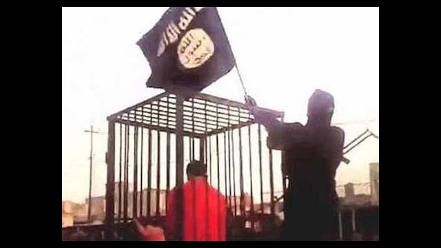 IŞİD'in kafese koyduğu esir hakkında bomba iddia!