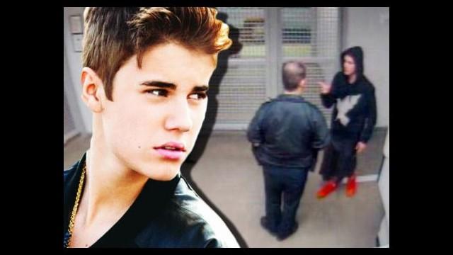 Justin nezarette... Şoke eden görüntüler!