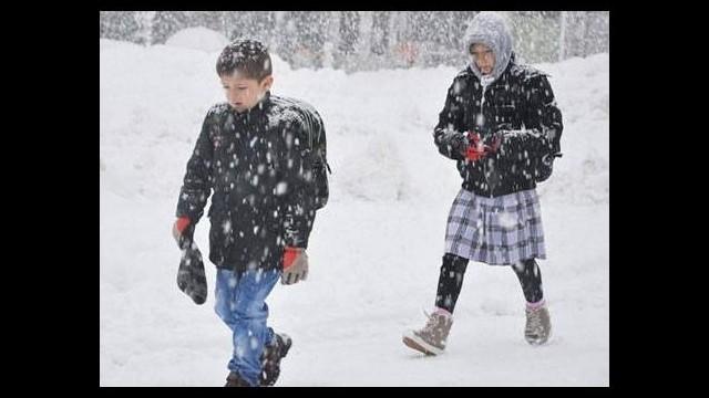 İstanbul'da okullar tatil edildi!