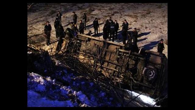 Polis aracı devrildi: 3 şehit