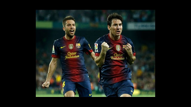 Nou Camp'ta Messi'nin Gecesi