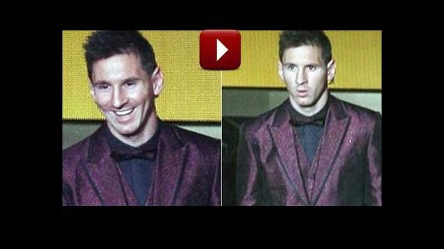 O ismi görünce Messi'nin yüzü işte böyle değişti!