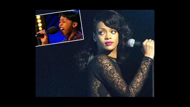 Rihanna'nın Küçük Rakibi Şaşkınlık Yarattı!