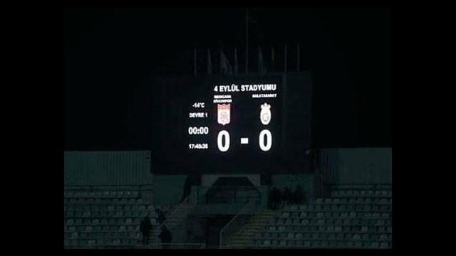 Sivas'ta futbolcular buz tutacaktı!