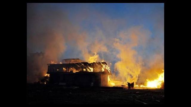 Avcılar'da depo yangını