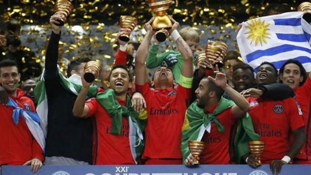 Fransa Lig Kupası, Paris'in!