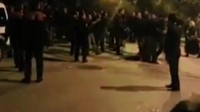 Bursa'da sokaklar karıştı