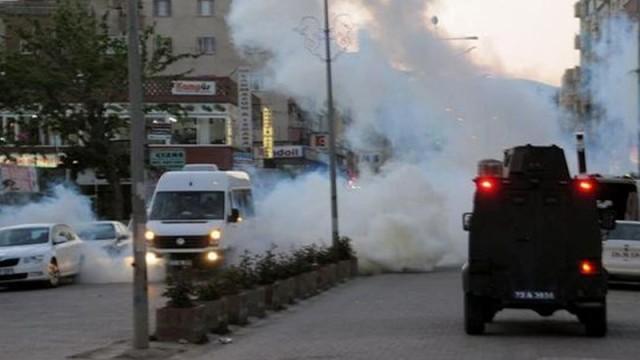 Cizre'de trafik kazası sonrası gerginlik!