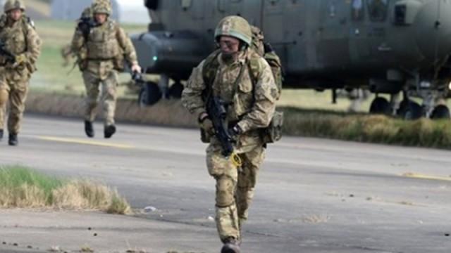 Amerikan askeri Ukrayna'ya giriş yaptı