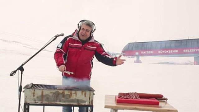 Erciyes'in tanıtımı için özel türkülü klip