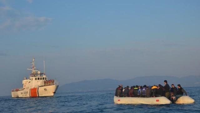 Tam 187 kaçak göçmen