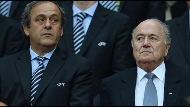 Platini'den Blatter'e şok! 'Umarım...'