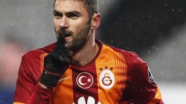Galatasaray'ın en golcüsü Burak Yılmaz!