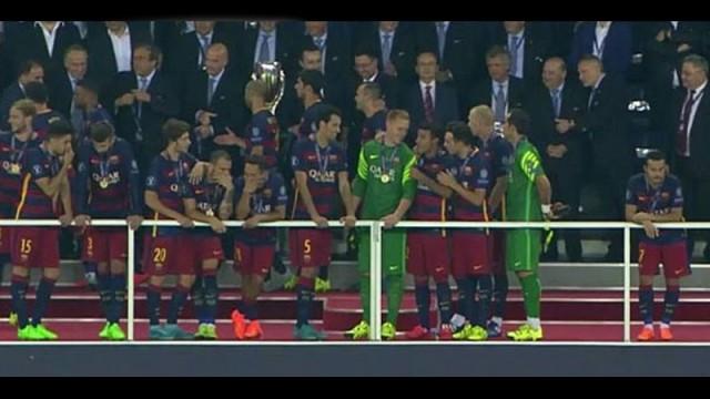 Finale damga vuran an! Barcelona'nın yıldızı neden mutsuzdu?