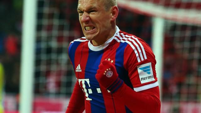Robben konuştu!