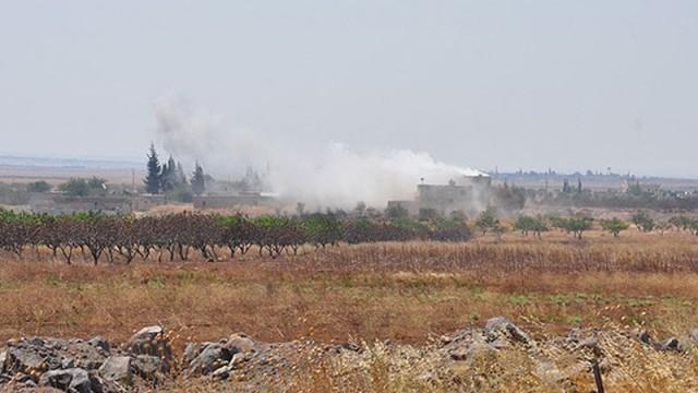 Suriye sınırında çatışmalar şiddetlendi