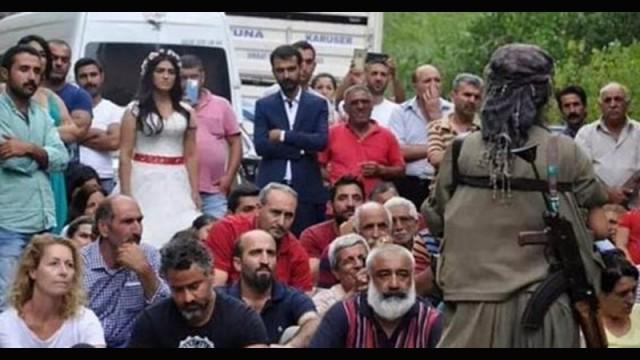 PKK düğün konvoyunu kesti