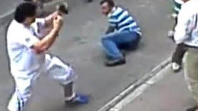 Esnafla kavga eden İrlandalı turistin kimliği belli oldu