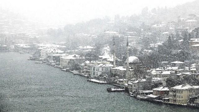 Meteoroloji'den İstanbul'da kar yağışı için düzeltme!