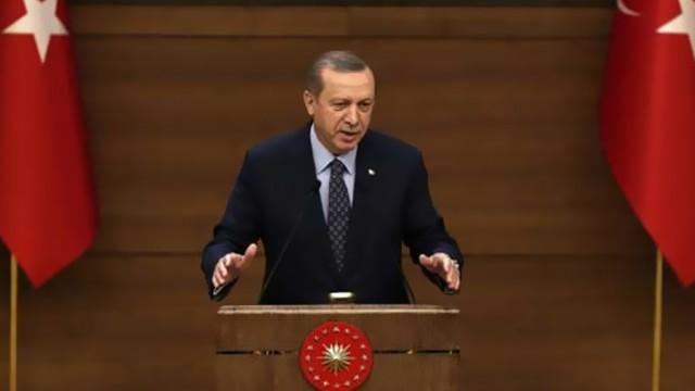 Erdoğan cami yakan PKK'ya sert çıktı