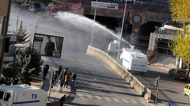 Olaylar kent merkezine sıçradı