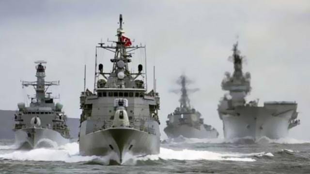 12 ülke Akdeniz'de güç gösterisi yapıyor