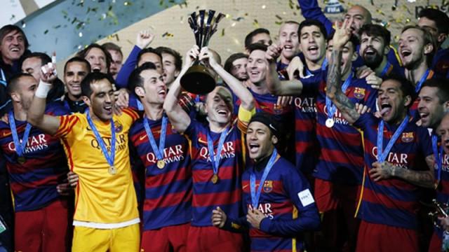 Barcelona kupayı kazandı!