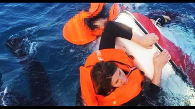 Çocuğun cesedini kaybolmasın diye tekneye bağladılar