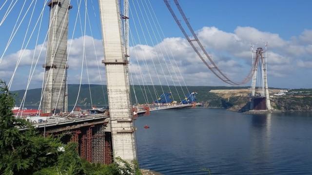 Üçüncü köprünün açılış tarihi...