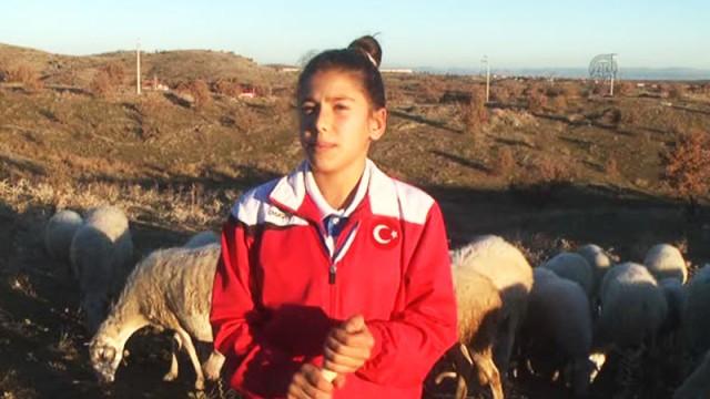 Çoban kız Balkan şampiyonu oldu!