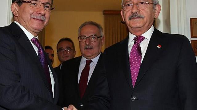 Davutoğlu ile Kılıçdaroğlu buluştu