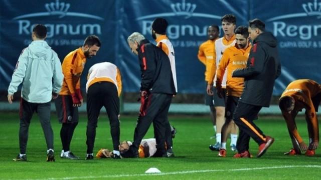 Galatasaray'da gerginlik! Chedjou...
