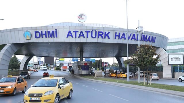 Atatürk Havalimanı'ndaki taksicilerden açıklama
