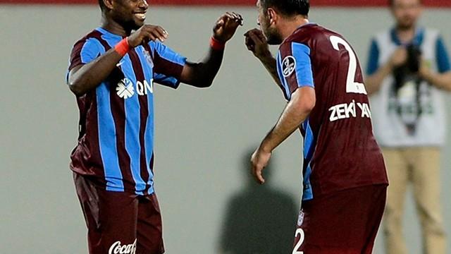 Trabzonspor Onazi ile Kasımpaşa'yı yıktı!