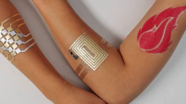 MIT ve Microsoft akıllı dövme geliştirdi!