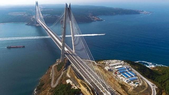 Yavuz Sultan Selim Köprüsü açıldı!