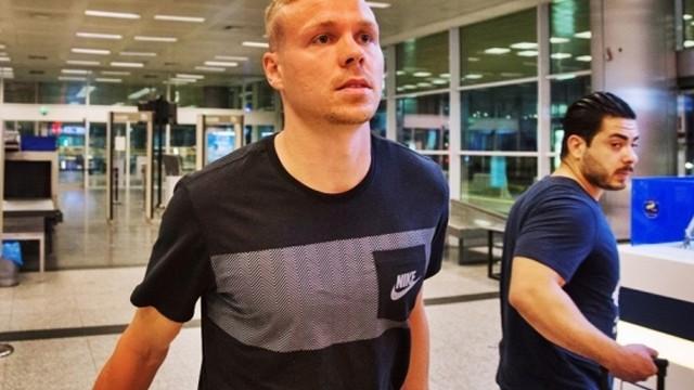 Galatasaray'ın yeni yıldızı Sigthorsson İstanbul'a geldi!