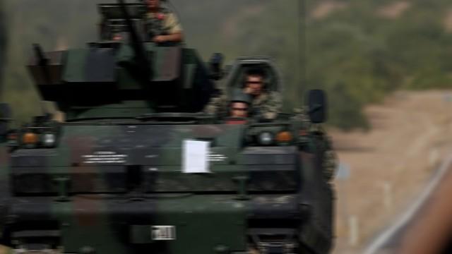 IŞİD Türk tankını vurdu 3 şehit, 1 yaralı