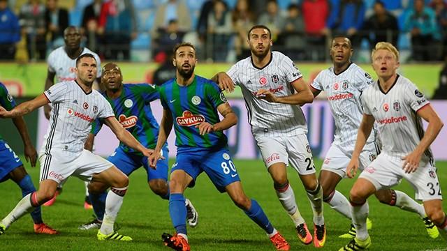 Çaykur Rizespor:0 Beşiktaş:1
