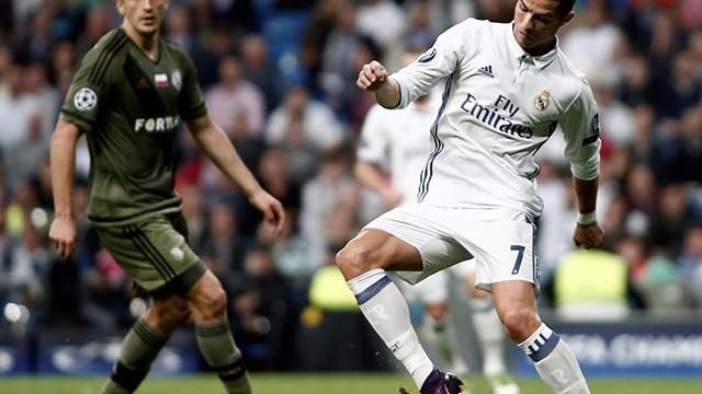 Real Madrid, Legia Varşova'ya acımadı!