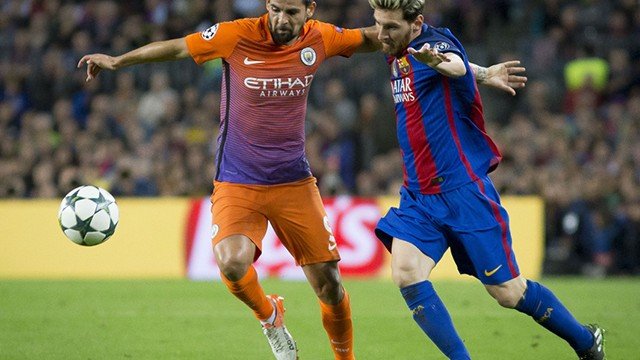 Barcelona, M.City'i dağıttı! 4-0