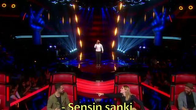 O Ses Türkiye jürisi onu Murat Boz'a benzetti...