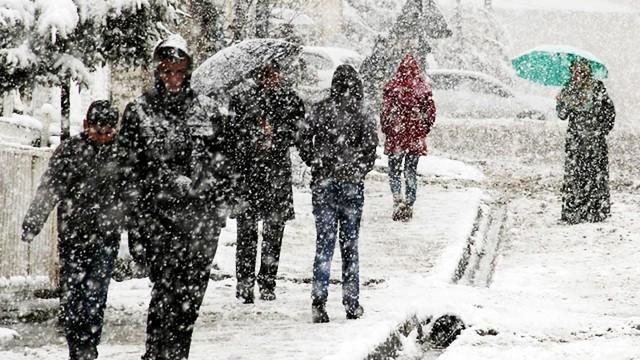 Meteoroloji uyardı! Sıcaklıklar düşüyor, kar yağışı geliyor...