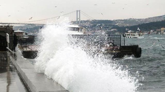 Meteoroloji'den Marmara için fırtına uyarısı!