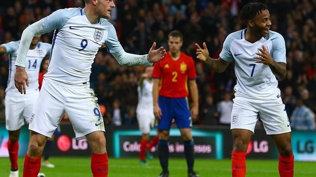 Jamie Vardy'nin gol sevinci olay oldu!