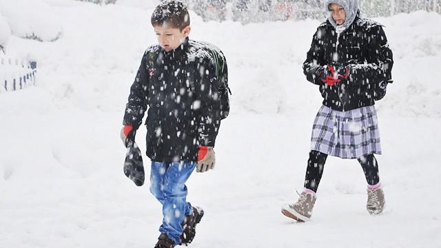 Bazı illerde eğitime kar engeli! Hangi okullar tatil?