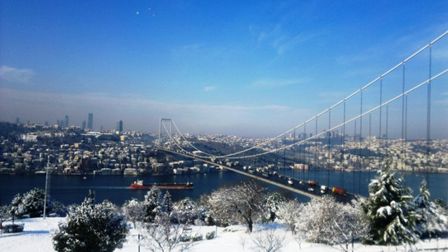 İstanbul'a kar perşembe geliyor