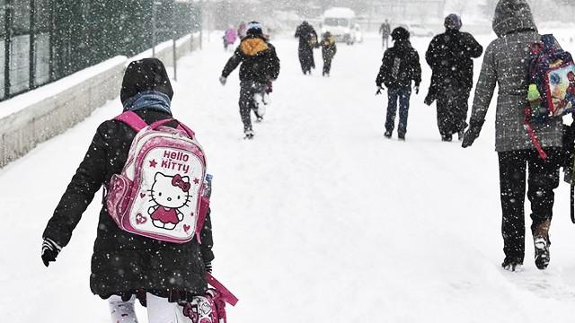 Birçok ilde okullara kar tatili!