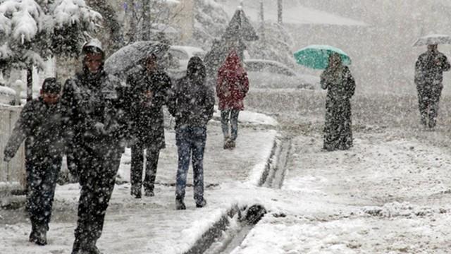 Kar yağışı için AKOM'da kriz masası kuruldu